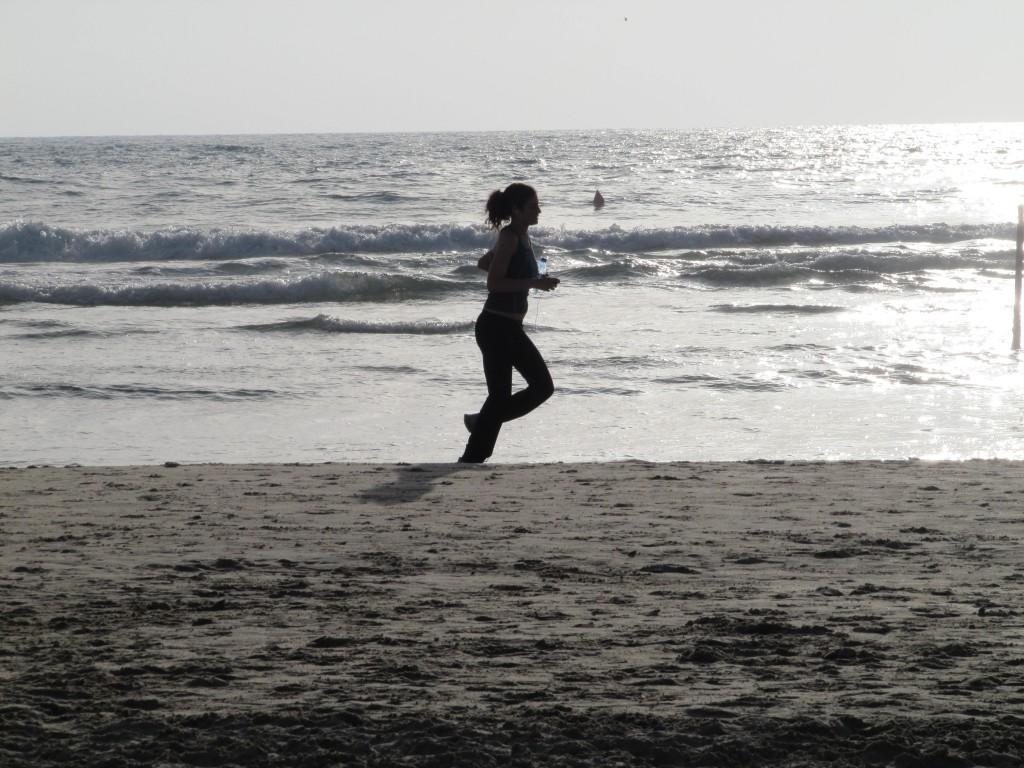 sneller hardlopen door afvallen